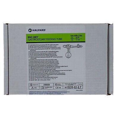 MIC-Key 0120-12-1.7, Low Profile Gastrostomy Feeding Tube Kit 12 Fr. 1.7 -