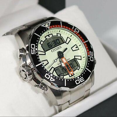Citizen Aqualand Promaster Diver's 200M Analog Digital Men's Watch JP1091-83X