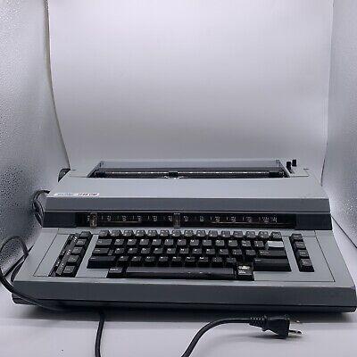 Vintage Swintec Model 1146 Cmp Electric Typewriter - Missing 1 Key Top Cover