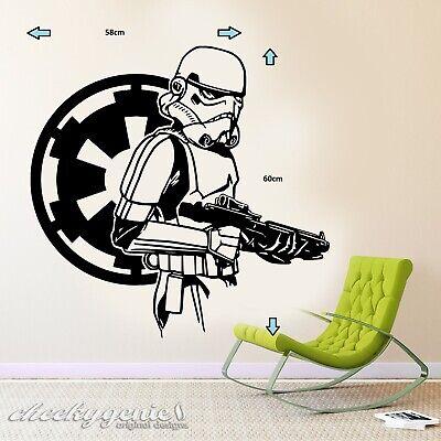 Star Wars Empire Stormtrooper Wall Art Sticker/Decal