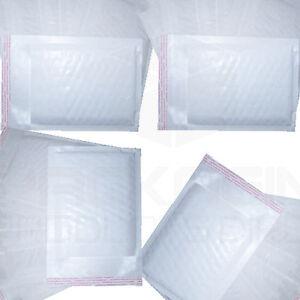 50 White Padded Bubble Envelopes 170x245mm PP4 A5