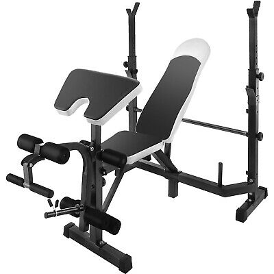 Weight Lifting Bench Set Combo Fitness Home Machine Gym Benc