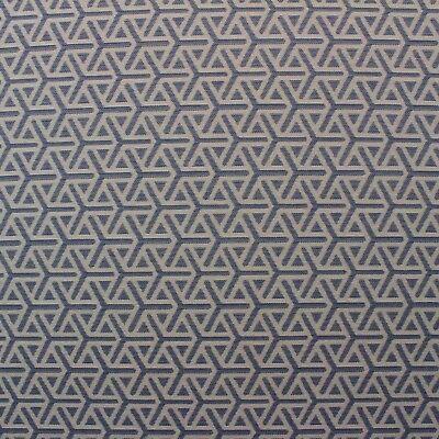 Ballard Designs Geo Blue Sunbrella Ivory Geometric Outdoor Fabric By Yard 54 W