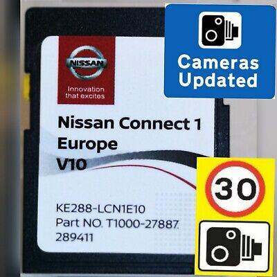 2020🚦NISSAN CONNECT 1 V10 MAPS SAT NAV SD CARD + SPEED CAM INFO