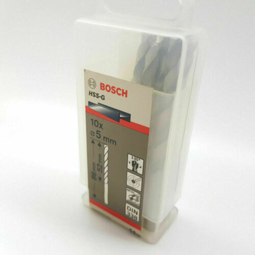 BOSCH DRILL BITS HSS-R 9mm x 81mm x 125mm METAL From 50p each