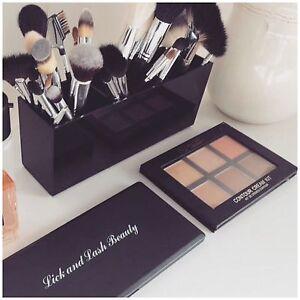 Caja-de-almacenamiento-de-Acrilico-para-Maquillaje-Acrilico-Titular-de-Pinceles-de-Maquillaje