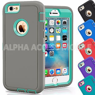 Protective Hybrid Shockproof Hard Case Cover For Apple Iphone 6 6S   6 6S Plus