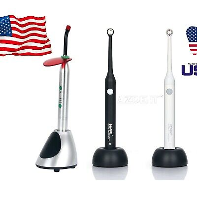 Wireless Dental Ortho Led Curing Light Lamp Wide Spectrum 2300mwcm 2700mwcm