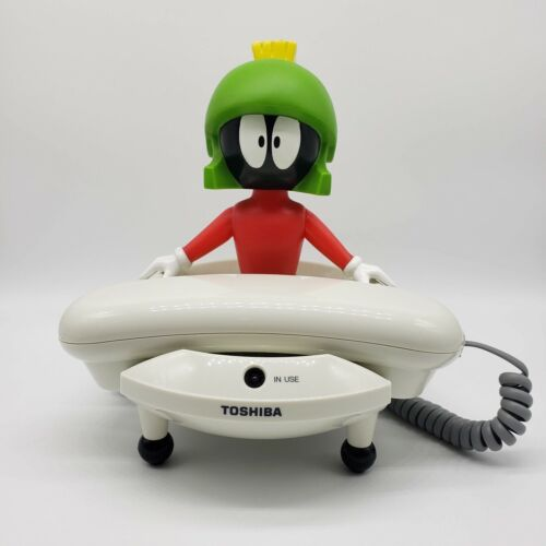 Marvin the Martian Looney Tunes Toshiba Corded Landline Telephone Phone LT800MAR