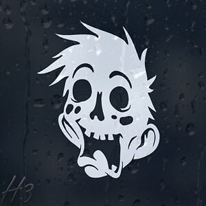 Funny-Zombie-Face-Car-Decal-Vinyl-Sticker