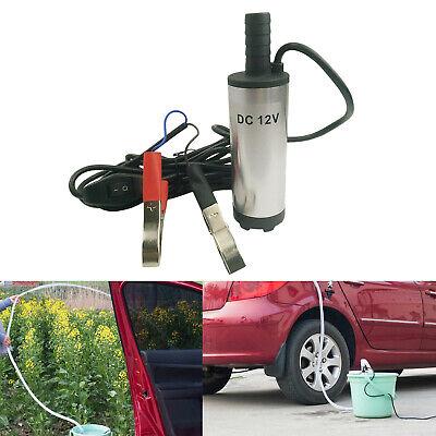 Oil Liquid Electric Fuel Transfer Pump 12v Dc Submersible Diesel Water Pump
