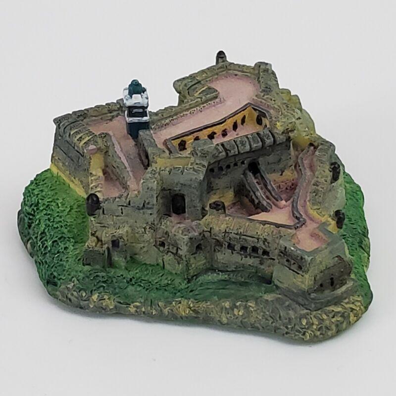 "El Morro, Old San Juan, Puerto Rico, Small Model Souviner, 2.75"" Wide"