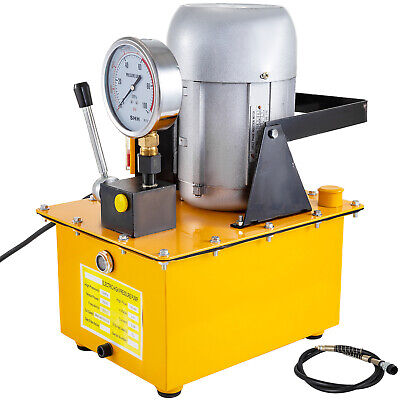 Bomba hidráulica eléctrica 2-70MPa Válvula manual de Simple Efecto 2.5L/min