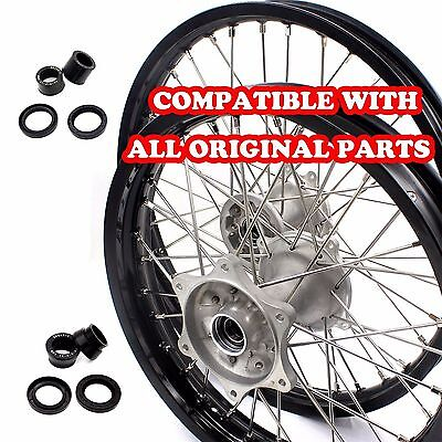 "21""/19"" CASTING MX WHEELS RIMS SET FOR HONDA CRF250R 2004-2013 CRF450R 2002-2012"