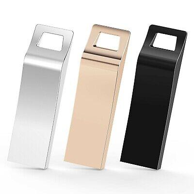 TOPESEL 3 Pack 32GB USB 2.0 Flash Drives Metal Memory Stick