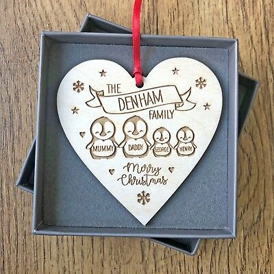 Personalised Family Christmas Decoration Gifts For Mummy Daddy Kids Decorations  ()