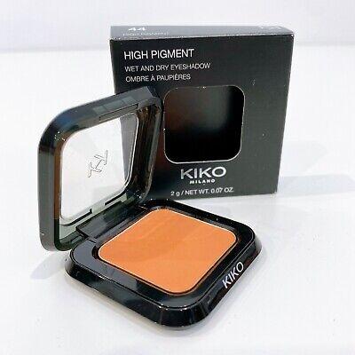 KIKO Milano High Pigment Wet and Dry Eyeshadow - ORANGE - Matte Sienna 44