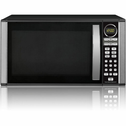 Hamilton Beach 1.3-cu. ft. Microwave Oven Black