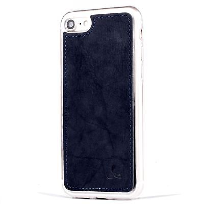 Apple Iphone 5 Shell (Snakehive Apple iPhone 5/5S/SE Vintage Nubuck Leather Shell Back Case Cover)