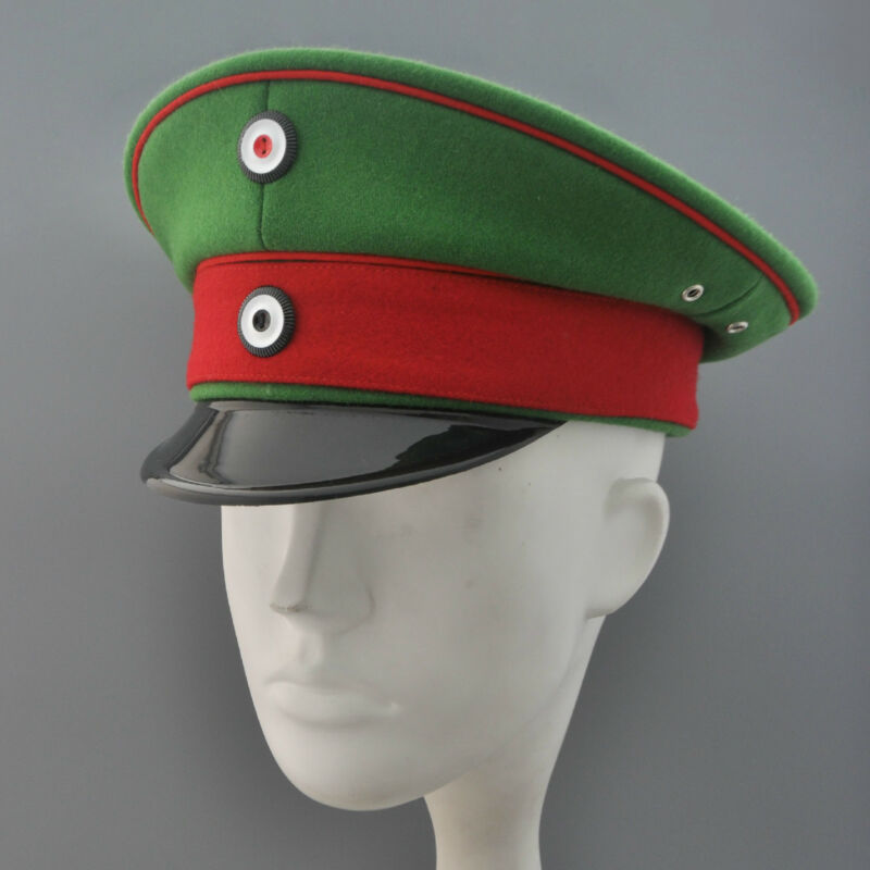 Replica Imperial German NCO  Visor Cap For Prussian Jäger Regiments