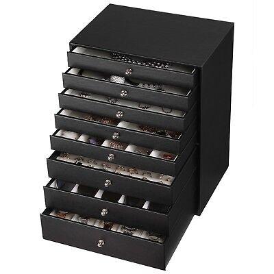 Gebrauchte Schmuckkästchen Schmuckbox modern Schwarz L186355B+JBC11B