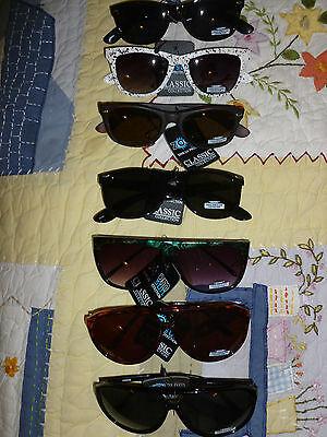 Zoom Eyewear Sunglasses Classic Designer Collection Pilot & Retro Style Frames -