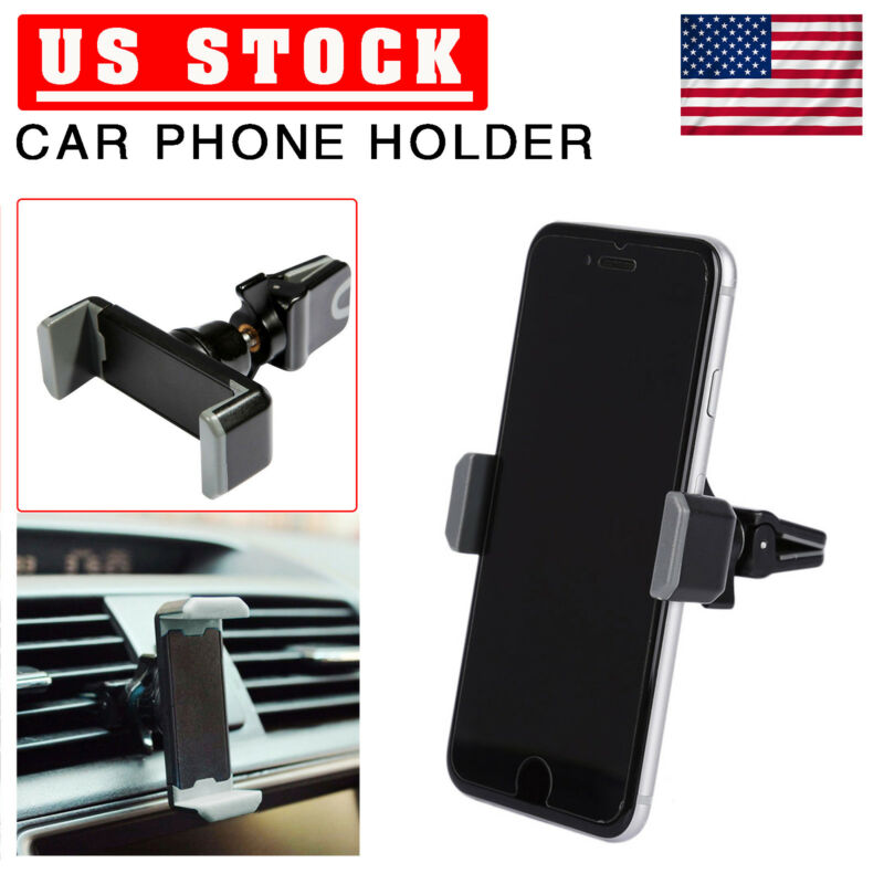 360° Car Air Vent Phone Holder Mount Cradle Stand Clip For iphone Samsung GPS US