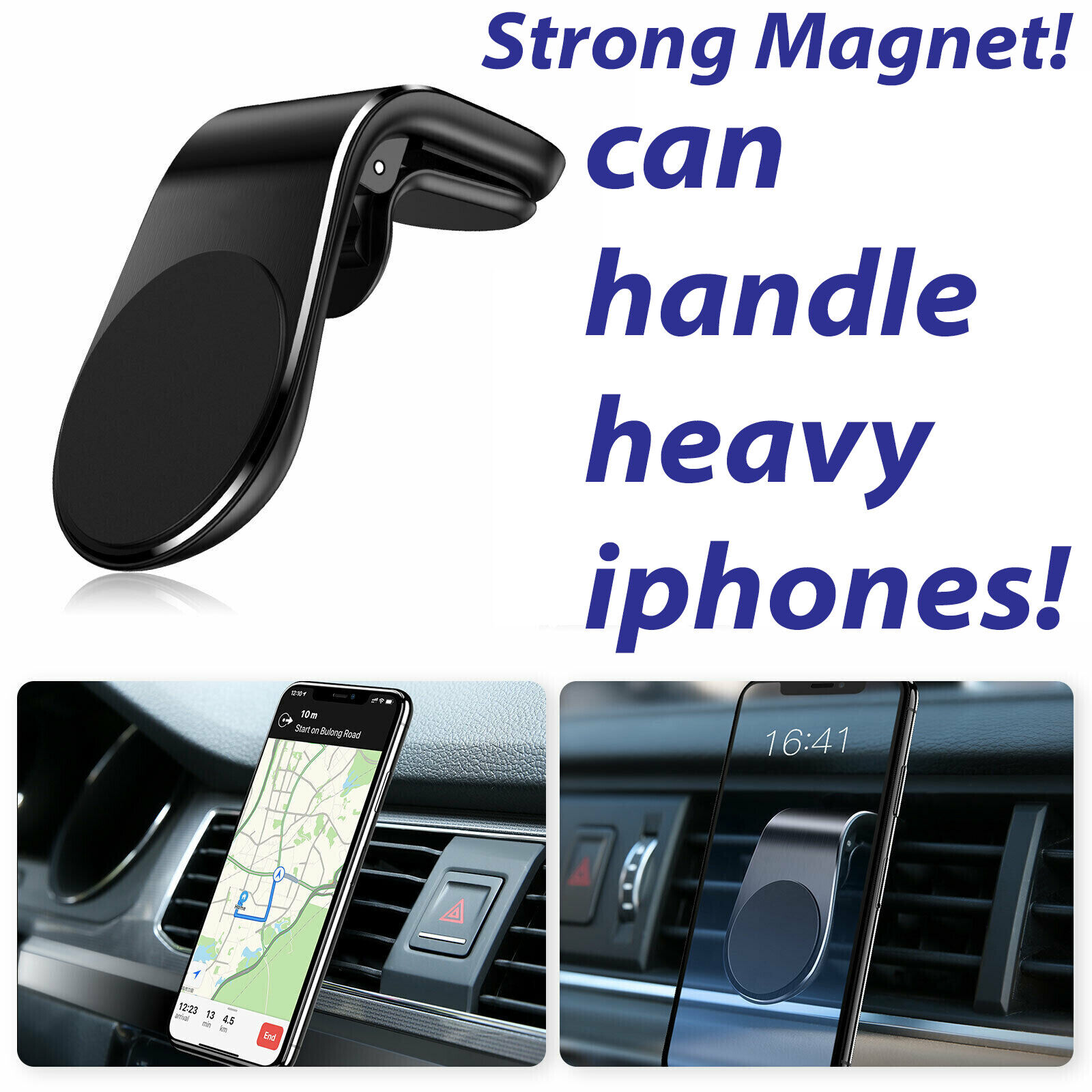 Car Magnet Magnetic Air Vent Mount Holder For Samsung Galaxy S8,S9,S10,S10E Plus Cell Phone Accessories