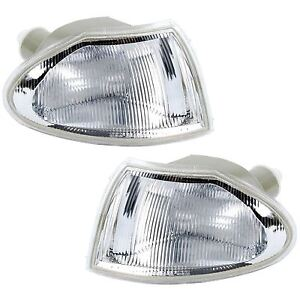 VAUXHALL ASTRA MK3 1994-1998 FRONT INDICATORS CLEAR 1 PAIR O/S & N/S