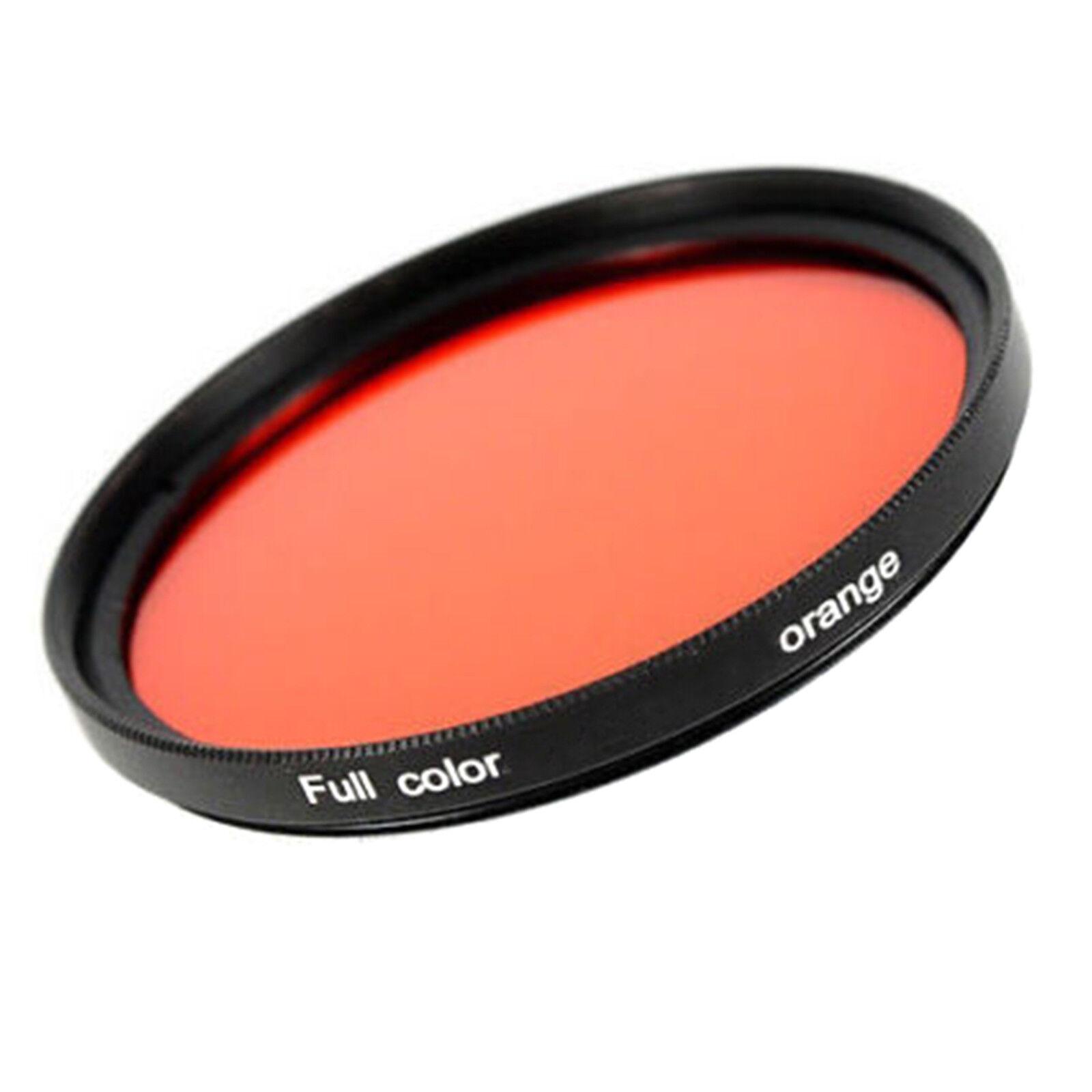 Farbfilter Orange Farbeffekt Filter 49 52 55 58 62 67 72 77 82 mm