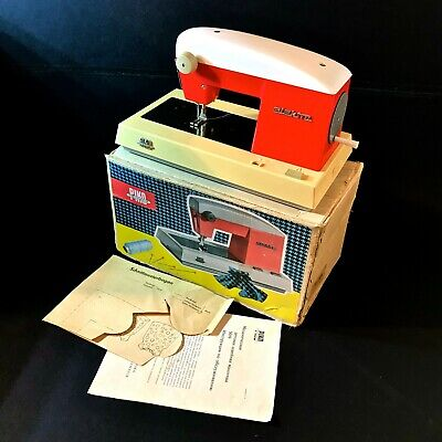 Used, 1960 VINTAGE HAND CRANK CHILD'S KIDS TOY SEWING MACHINE PIKO ELECTRA WORKING BOX for sale  Shipping to Nigeria