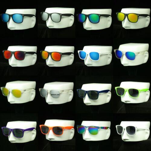Sunglasses men women new retro vintage style frame horn rim hipster blocking