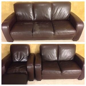 BONDED LEATHER SOFA SET FOR $150! DELIVERY AVAILABLE!