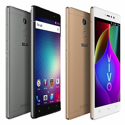 Blu Vivo 5R V0090uu 5 5  Cell Phone 13Mp 32Gb Gsm Unlocked Dual Sim Android New