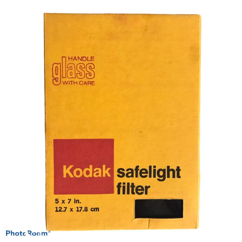 Vintage 5 X 7 KODAK Safelight Filter For Dark Room