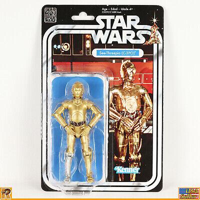 Star Wars - C-3PO - 40th Anniversary - 6 inch - MOC - [SW40-4]