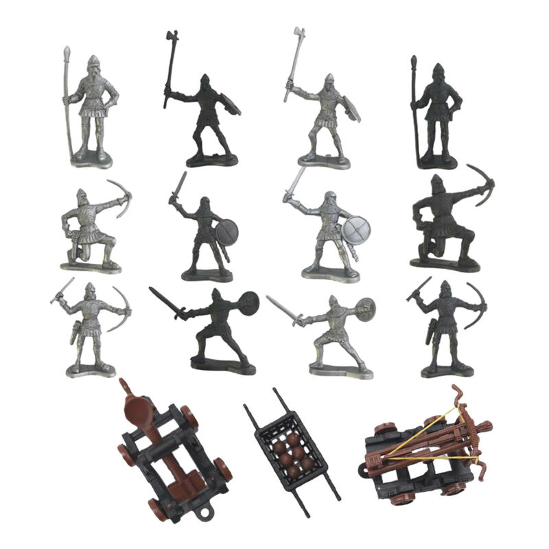 Soldiers+Figures+Knights+Warrior+Medieval+Toy+Play+Set+Mini+Model+Kids+Toys
