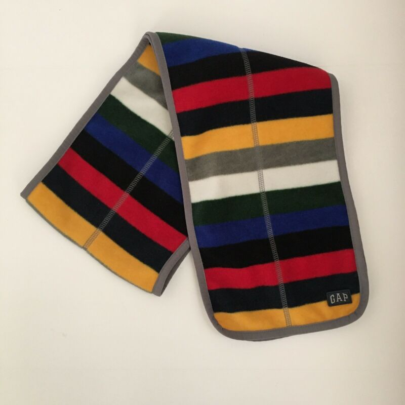 Baby Gap Kids Wrap Striped Scarf Warm Soft Fleece