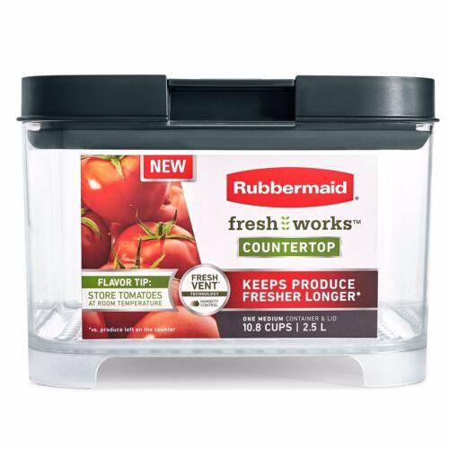 Rubbermaid FreshWorks Countertop Food Storage Produce Saver