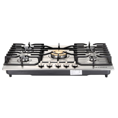 "30"" Stainless Steel Cooker Stoves Cooktops Gold Built-in 5 B"