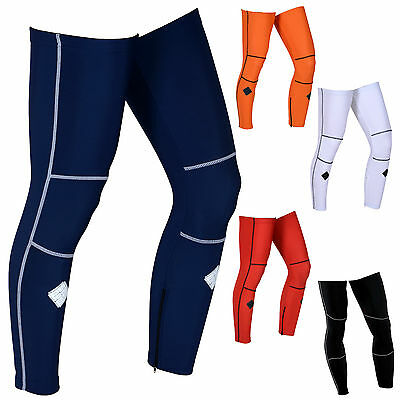 CYCLE LEG WARMERS Cycling Winter Thermal dancing horse riding skating (AA)