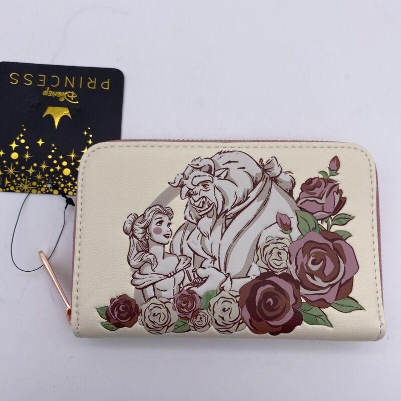 Loungefly Disney Beauty & the Beast Belle Floral Zip Wallet