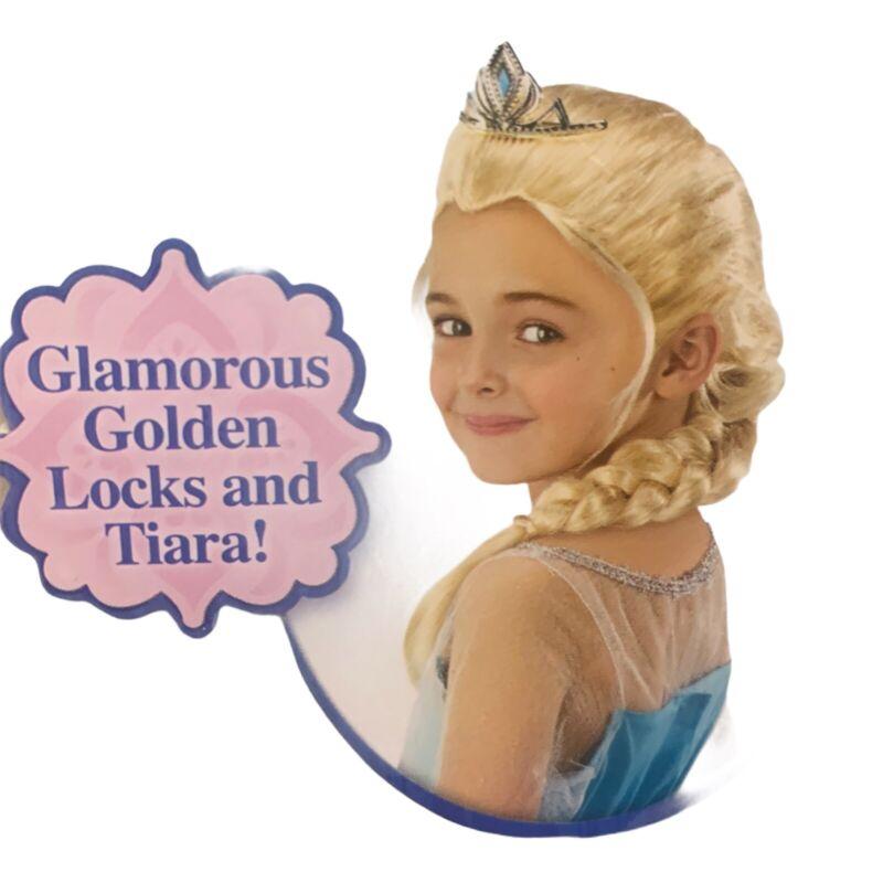Disney Elsa Original Tiara & Braid Childrens