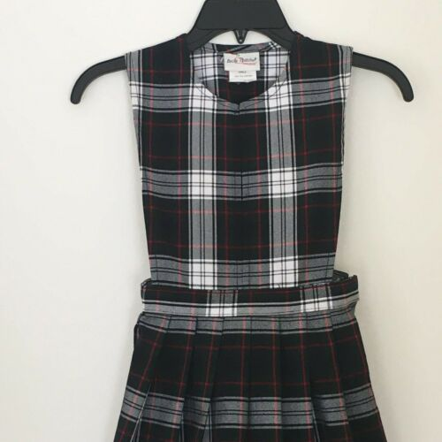 Becky Thatcher Elderwear Girls Jumper Dress 6X School Uniform Plaid