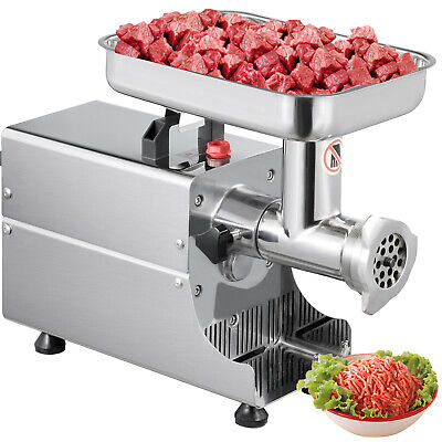 Vevor Kitchen Heavy Duty Stainless Steel Electric Meat Grinder 176lbsh