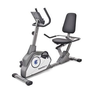 Recumbent Bike | Marcy NS-40502R Stationary Cardio Exercise Workout Home Machine