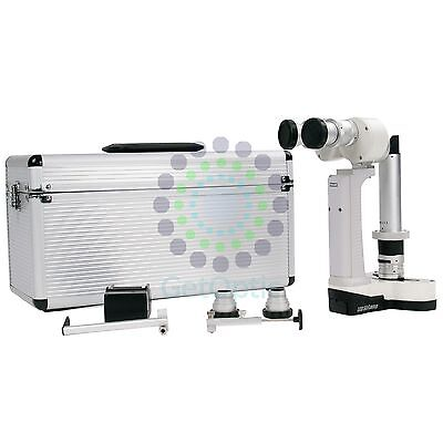 Portable Hand Held Slit Lamp 3500 With Case Ce Approval Battery New