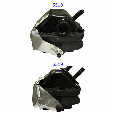 2005-2008 Ford F-150 4.6/5.4L Front Left&Right Engine Motor Mount Set 2PCS M1041 ()