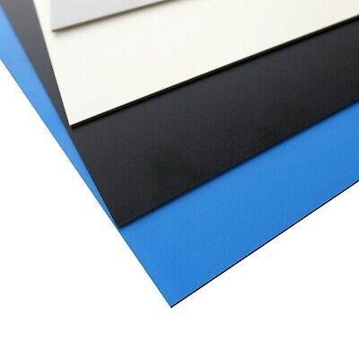 MKHP Platten, schwarz 350x150x2mm, melaminkaschiertes, dekoratives Hartpapier (Papier Dekorative Platten)