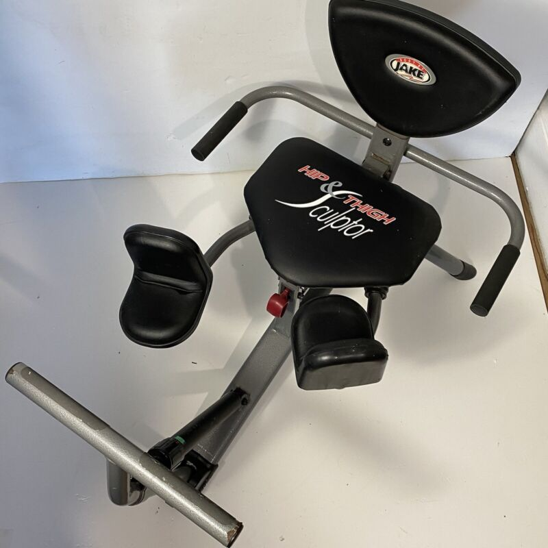 BODY BY JAKE HIP & THIGH SCULPTOR  EXERCISE MACHINE works well